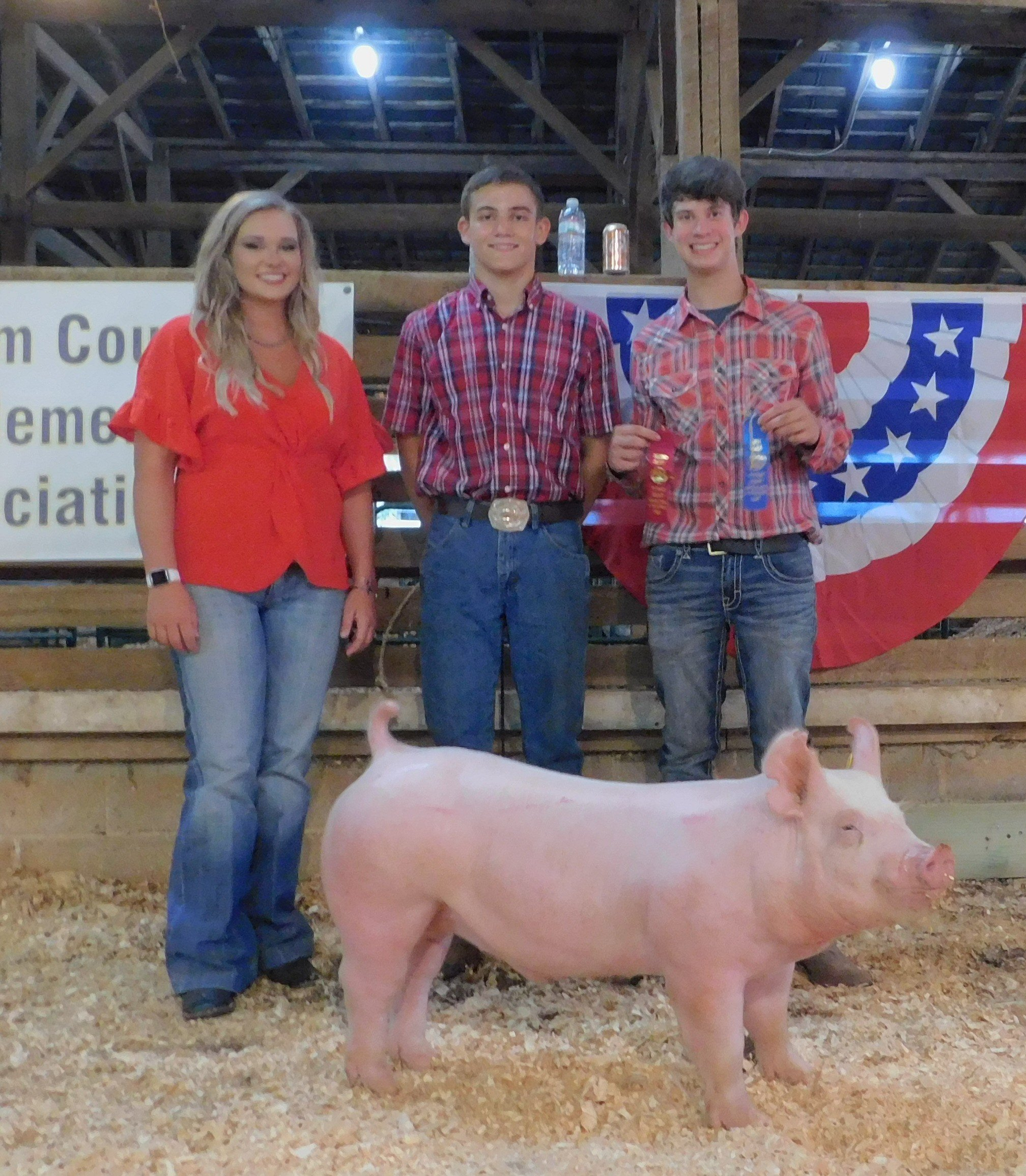 Kalan Lusk 2019 Putman County Fair First in Class