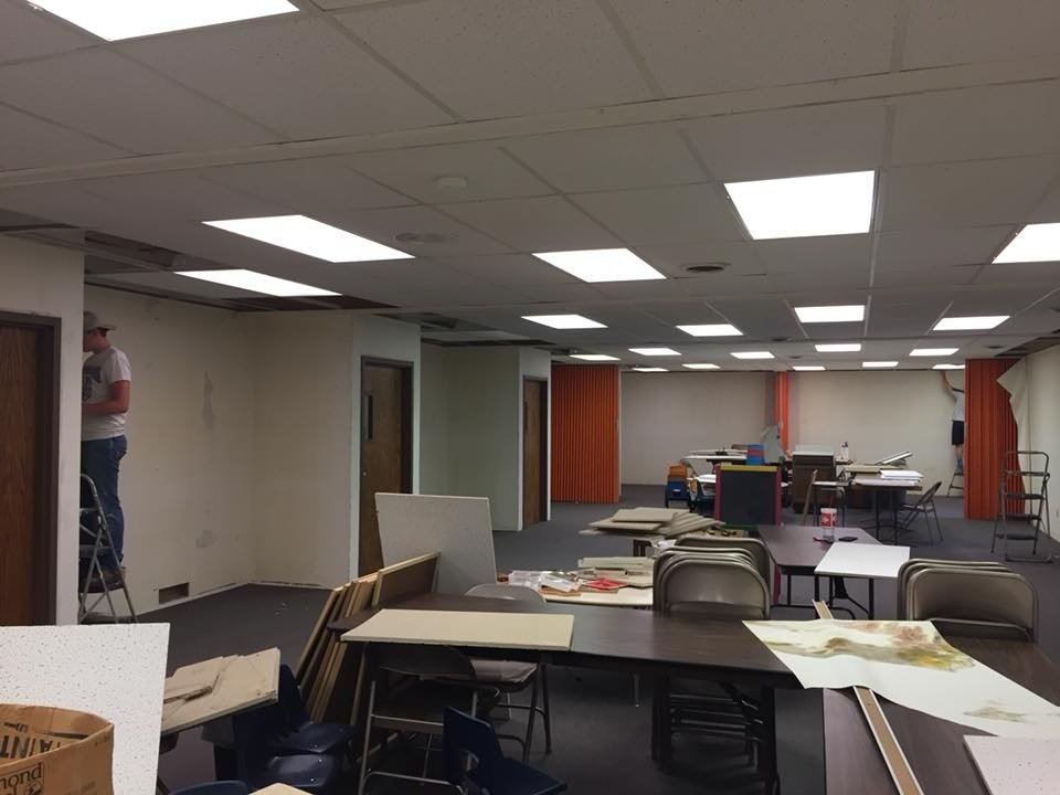 Ed Unit renovation