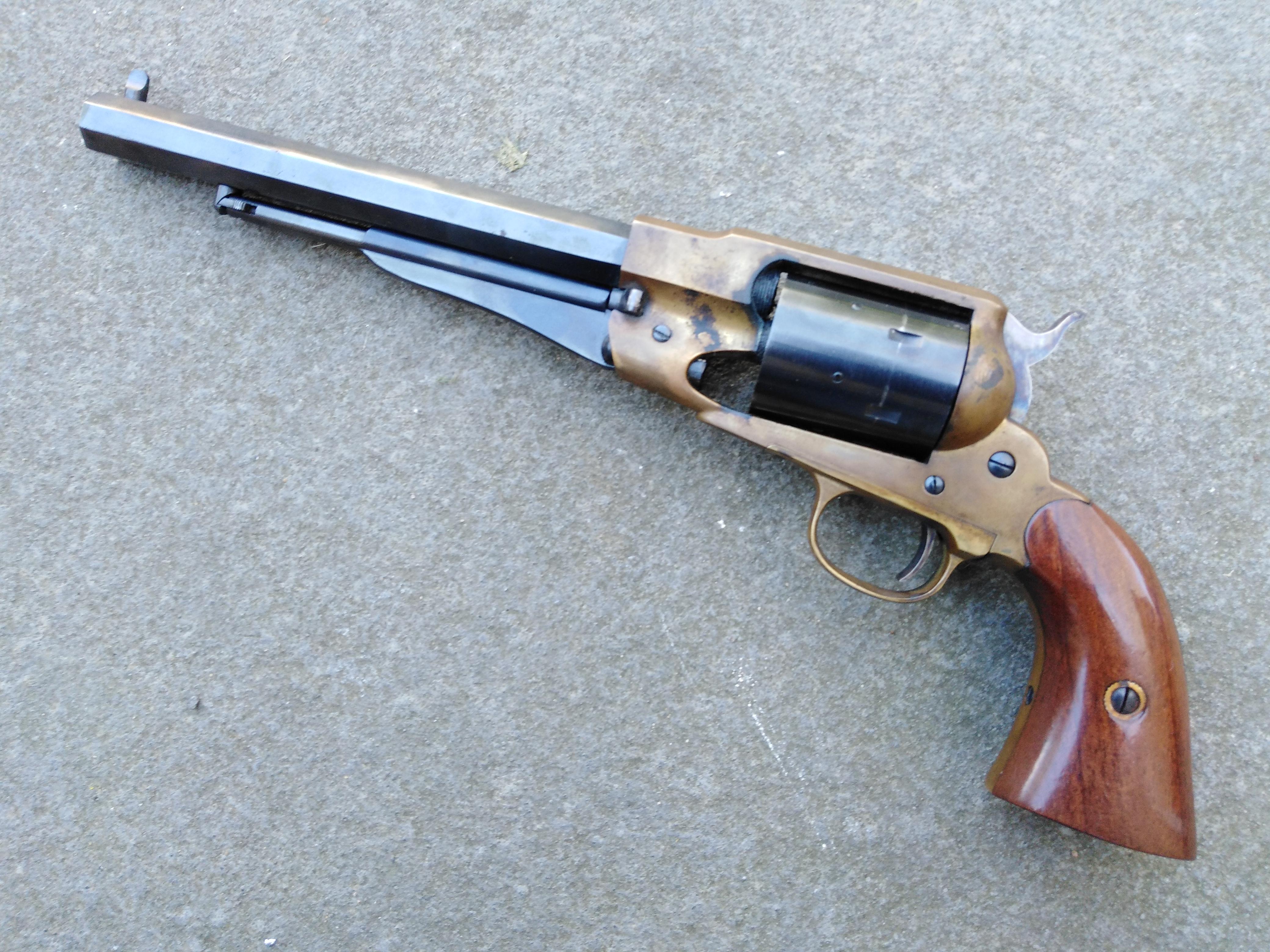 """Pietta Remington 1858 """"Aged Look"""""""