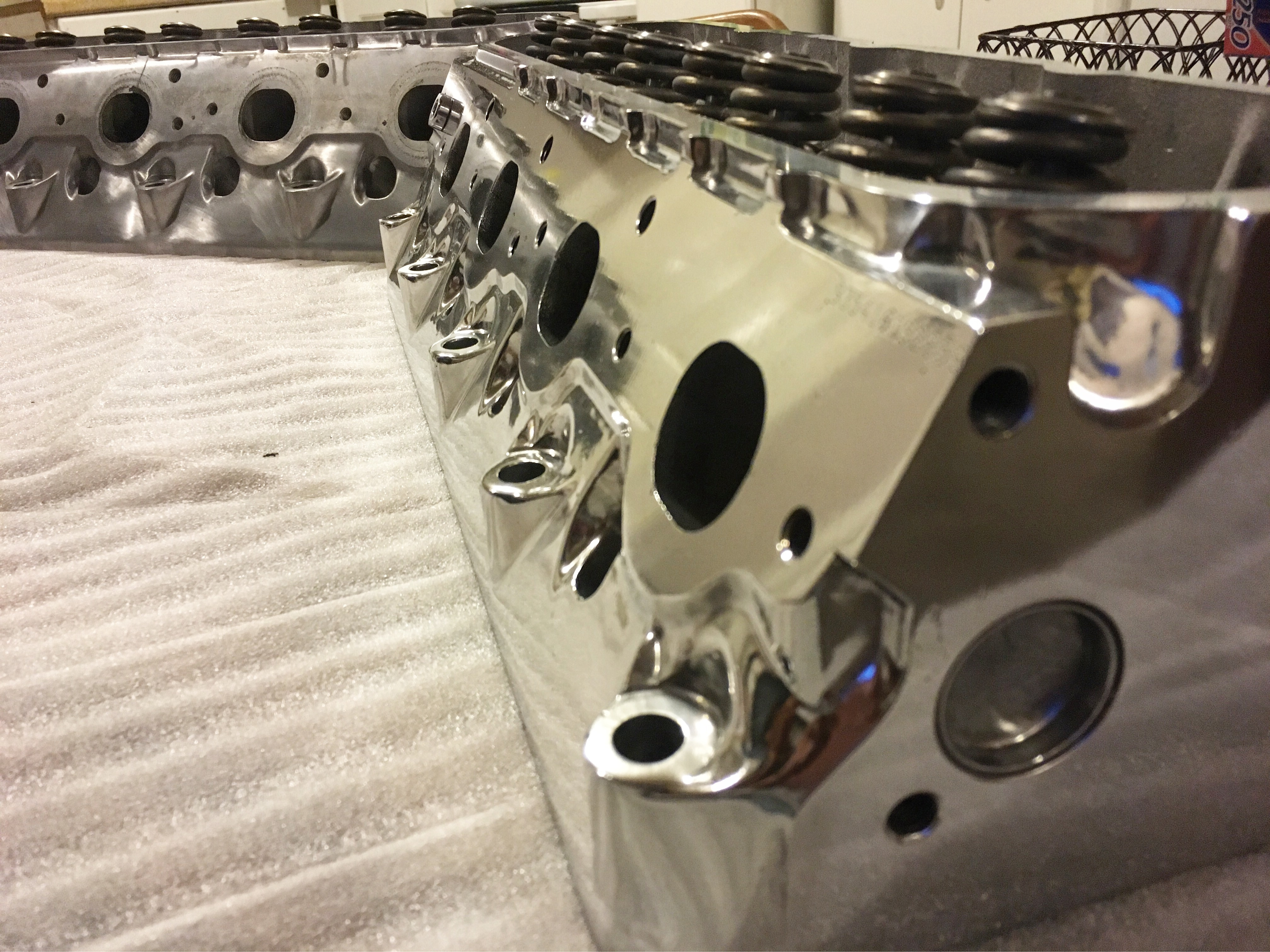 Polish Aluminum Heads