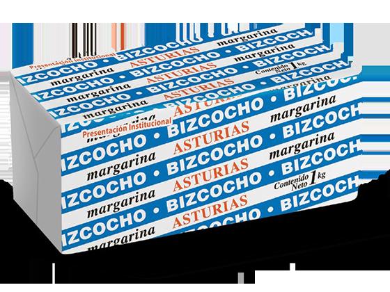16  |  Asturias Bizcocho Caja de 10 kg (10 barras de 1 kg)
