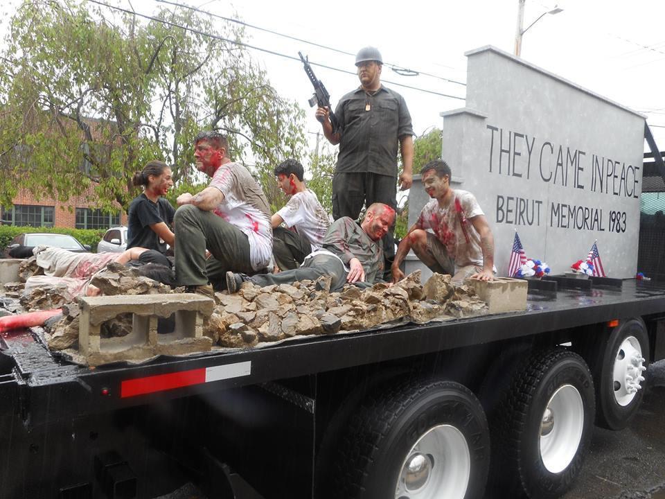 2016 Memorial Day Parade Float