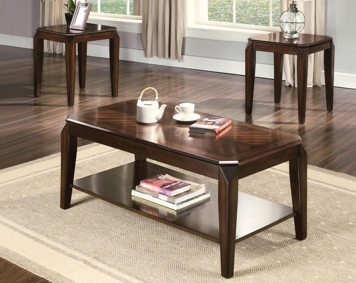 3 Piece Table Set CTC OT80655 & Furniture Clearance Center | Tables
