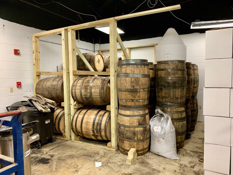 Boundary Oak Distillery - Barrels