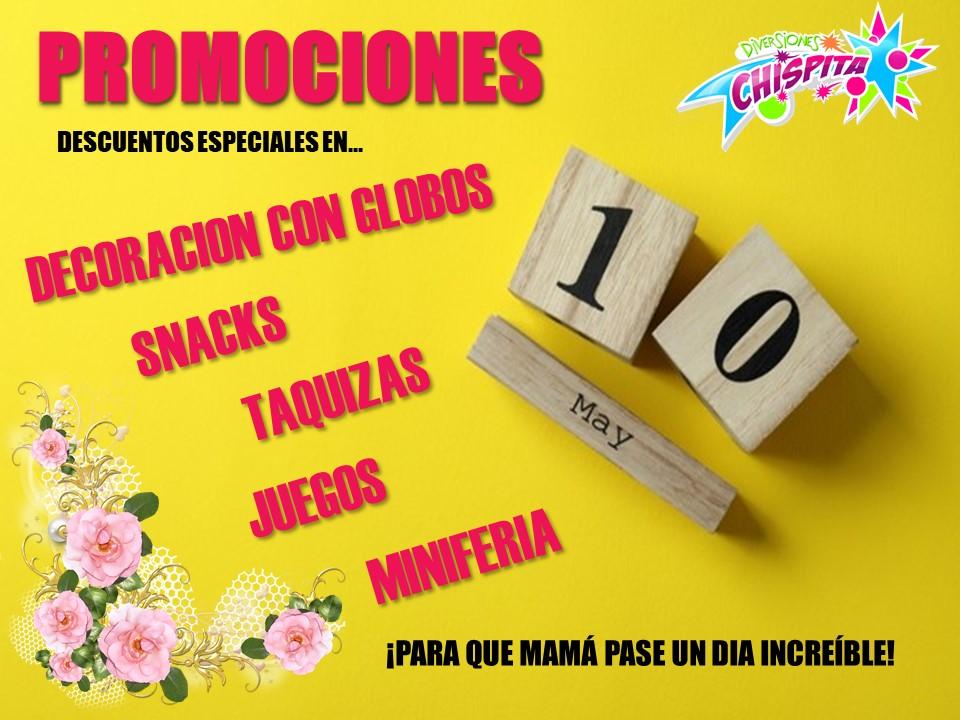 PROMOCIONES 10 DE MAYO