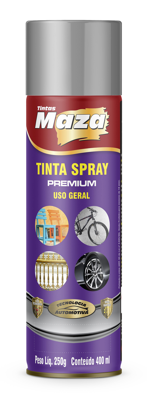 TINTA SPRAY FOSCO PRIMER RÁPIDO CINZA INTERIOR EXTERIOR