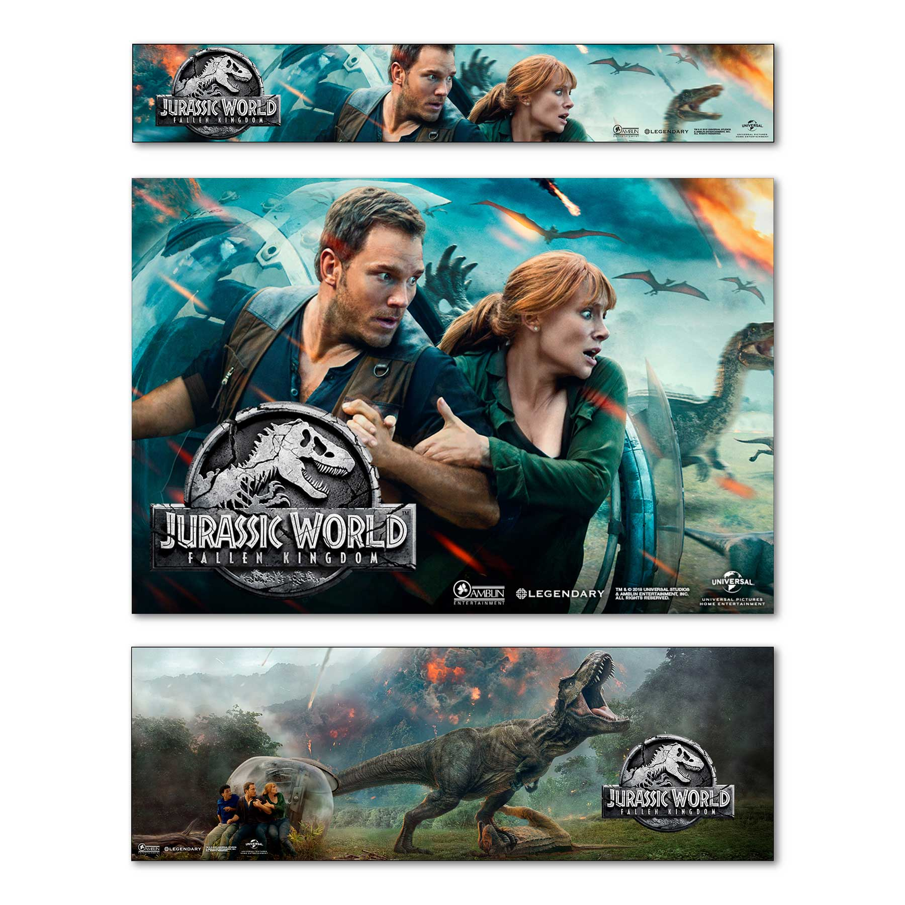 Jurassic World Banners