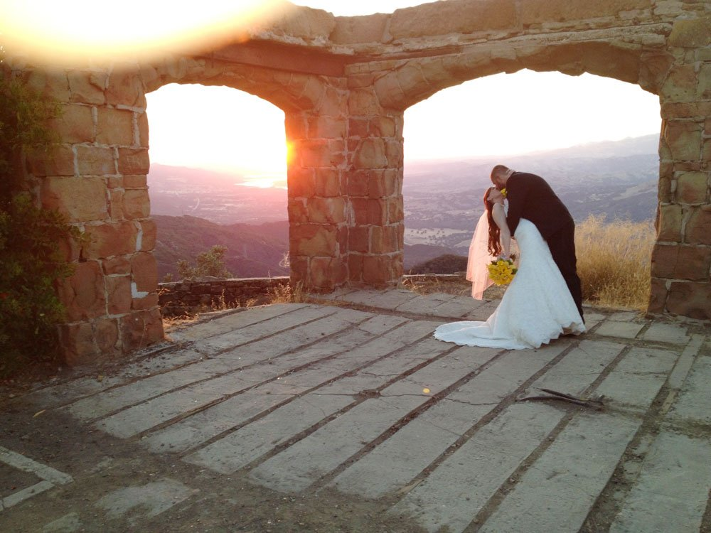Vadim and Stephanie, Knapp's Castle, Santa Barbara