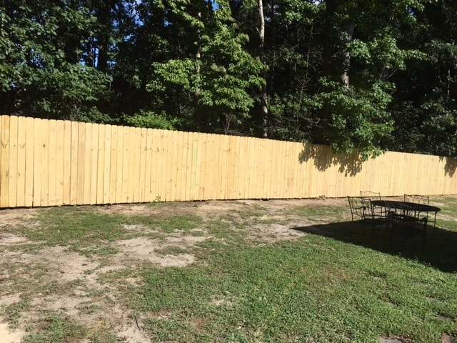 Long Wood Fence