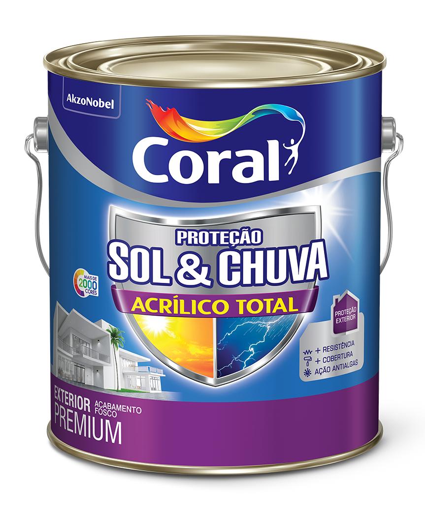 PROTEÇÃO SOL & CHUVA ACRÍLICO TOTAL