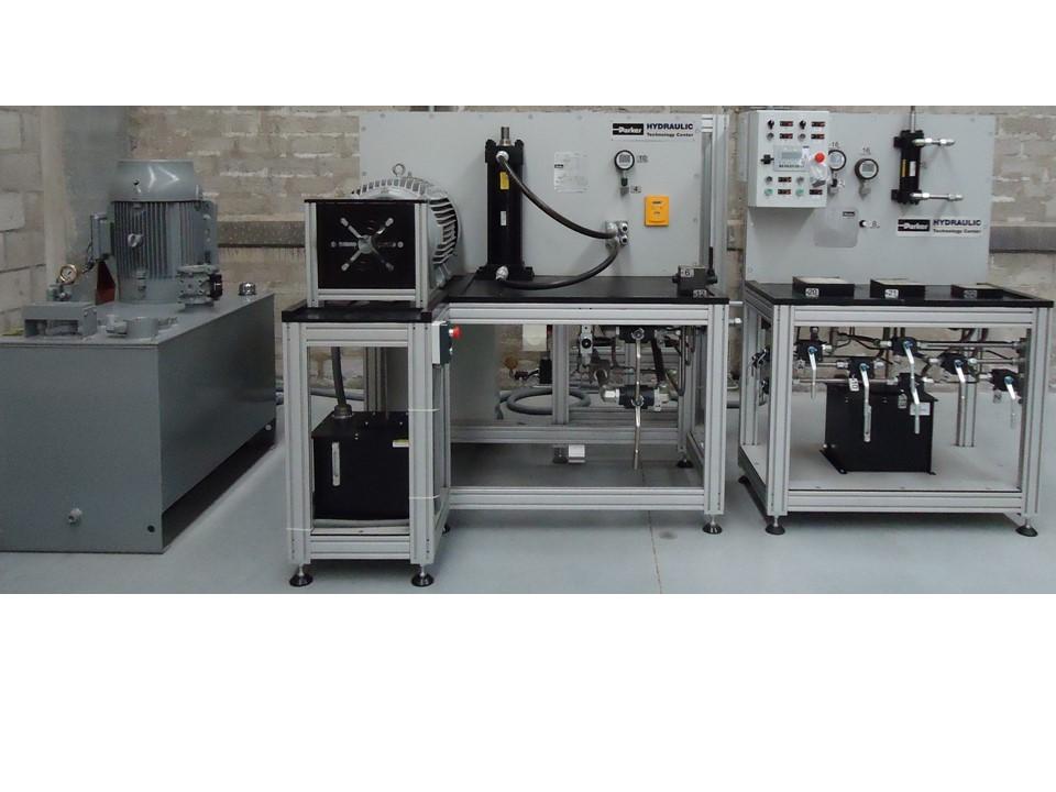 Reparación y mantenimiento de equipo hidráulico