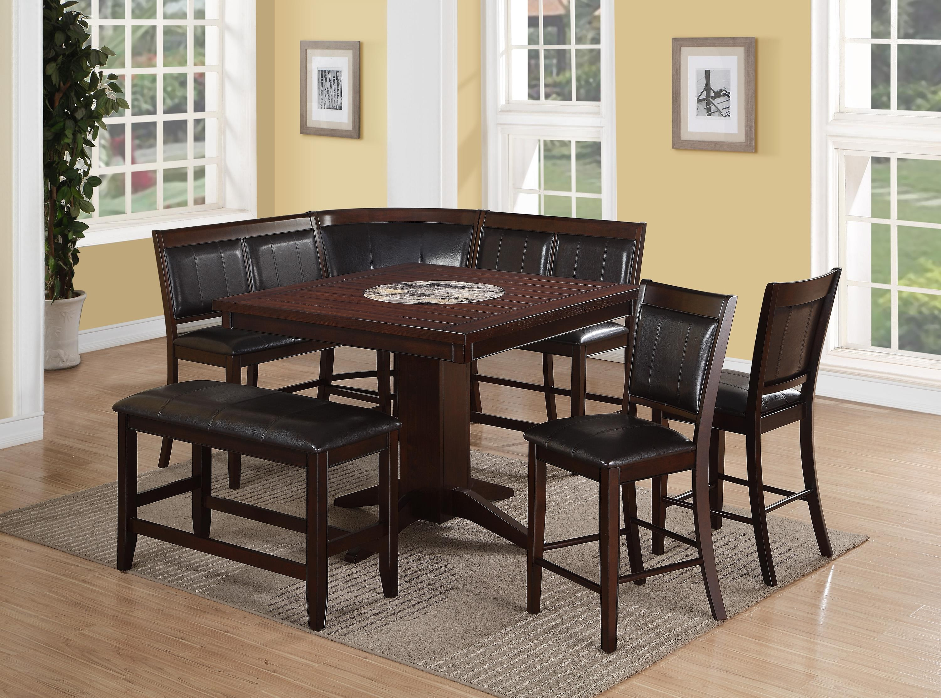 Furniture clearance center pub sets for L shaped dining room table