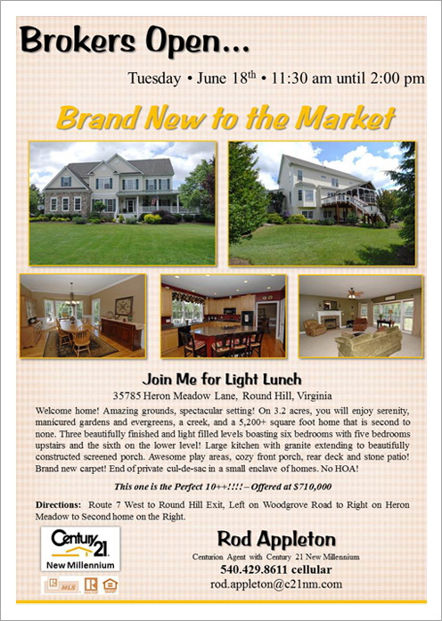 HERON MEADOW BROKER OPEN||||