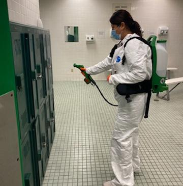 Sanitizing Cabinets