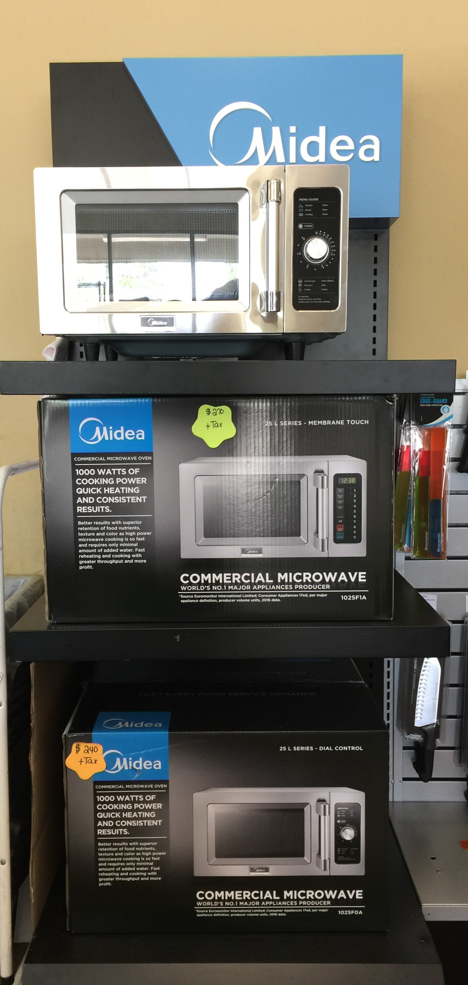 New Midea Commercial Microwave