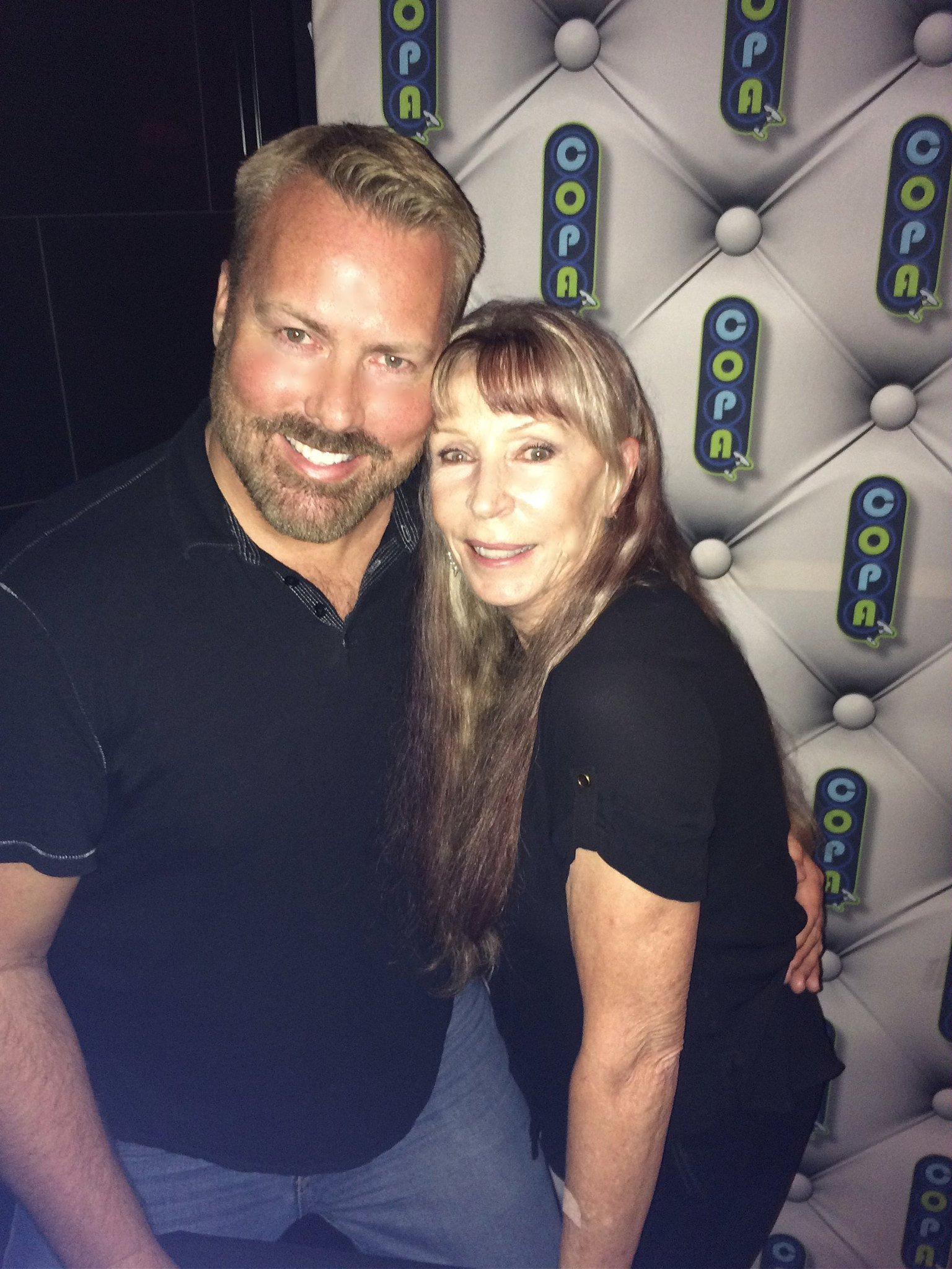 Juice Newton With a Fan