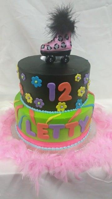 Rollerblades Cake