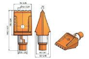Modelo BFZ-162 Diente BETECK