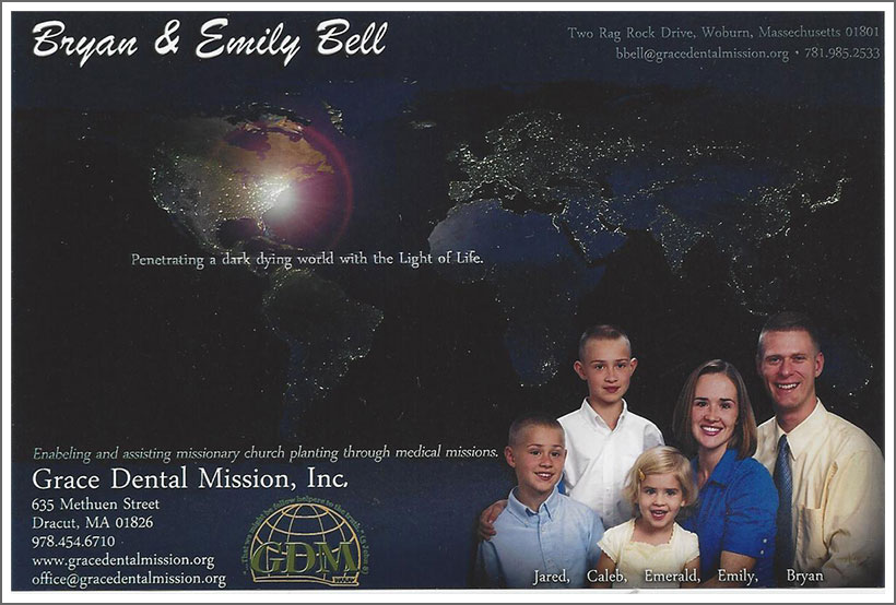 Bryan and Emily Bell family||||