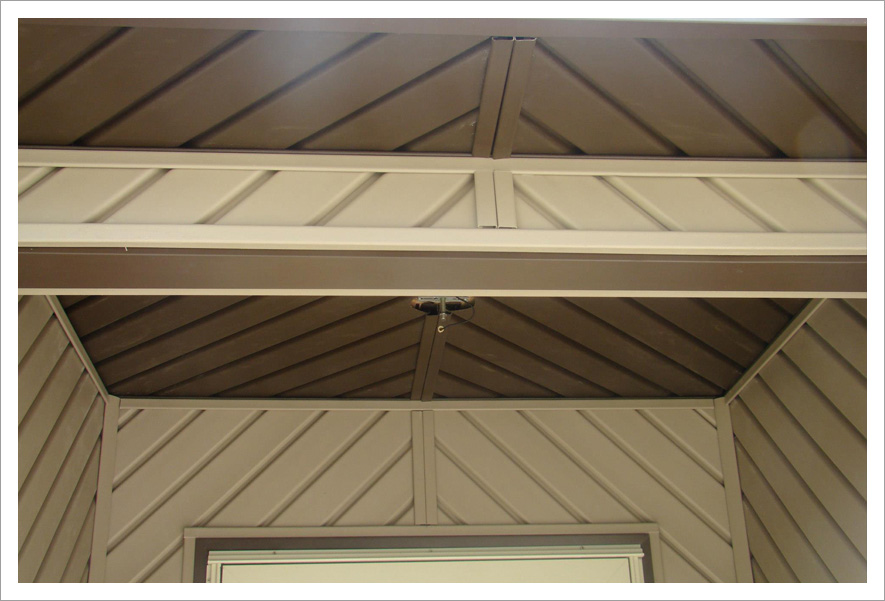 Beautiful front entry ceiling||||