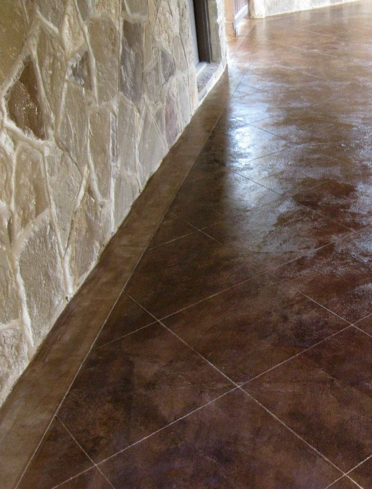 Decorative Concrete Surface