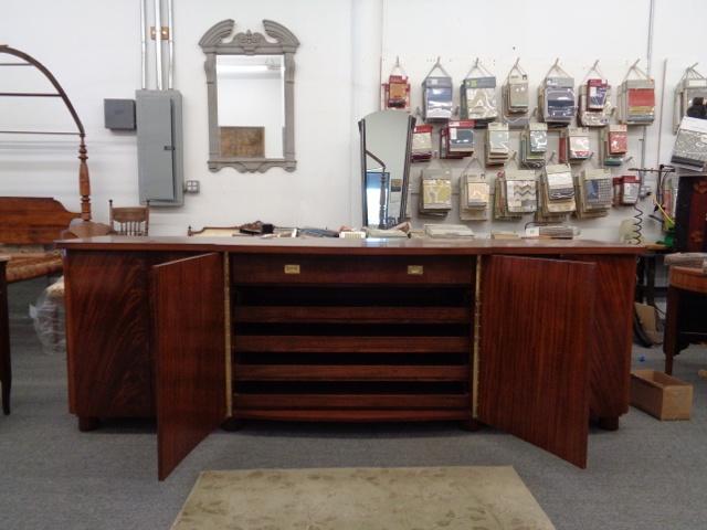 Mahogany Sideboard Interior
