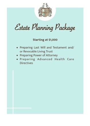 Estate Planning Law Package, Bundled Legal Services, Succession Planning Package, Business Law Support Package
