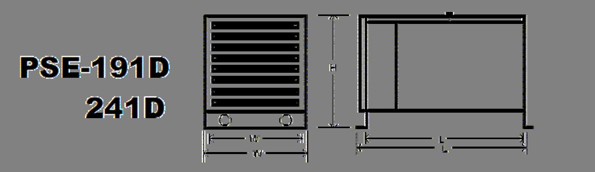 191D & 241D Specs Diagram