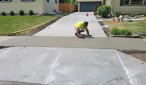 Concrete Driveway Project