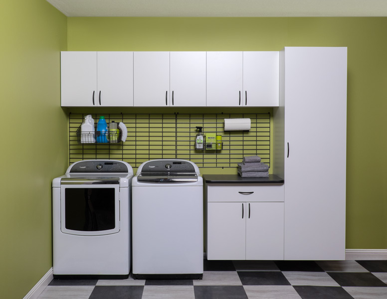 custom design for laundry room in Roswell