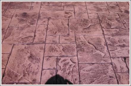 Concrete gurnee stamp||||