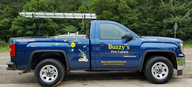 Buzzy's Pest Control truck