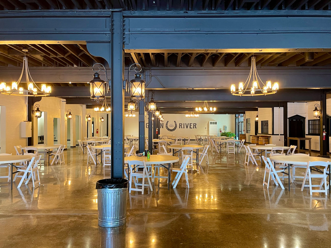 Event Space in Visitor Center - Green River Distilling Co