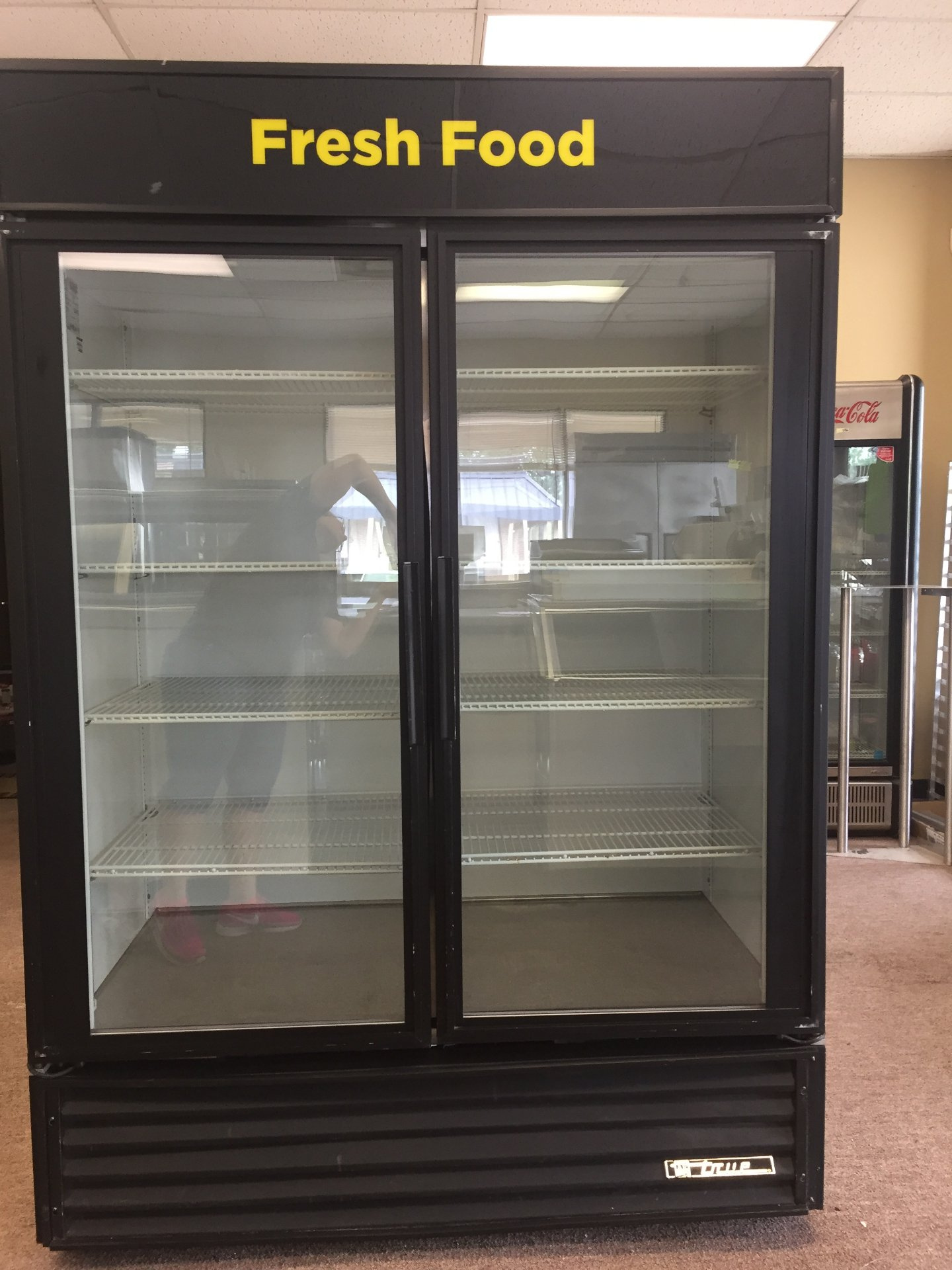 Used True 2 Door Display Refrigerator Model # GDM-49 $ 2000.00