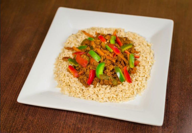 Vegetables and Brown Rice