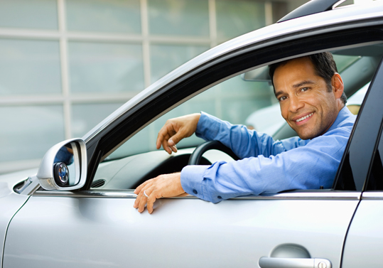 Motorist Inside a Car||||