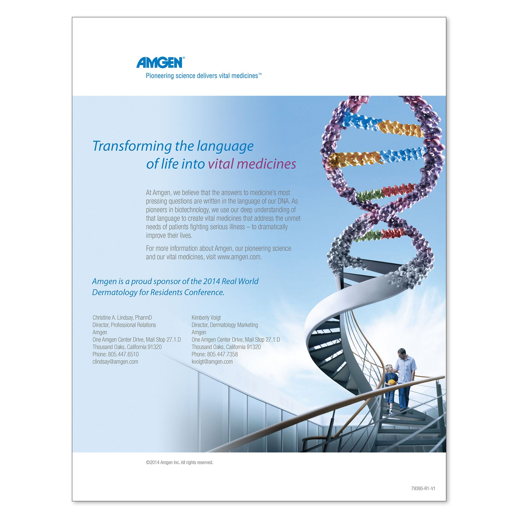 Amgen DNA Ad