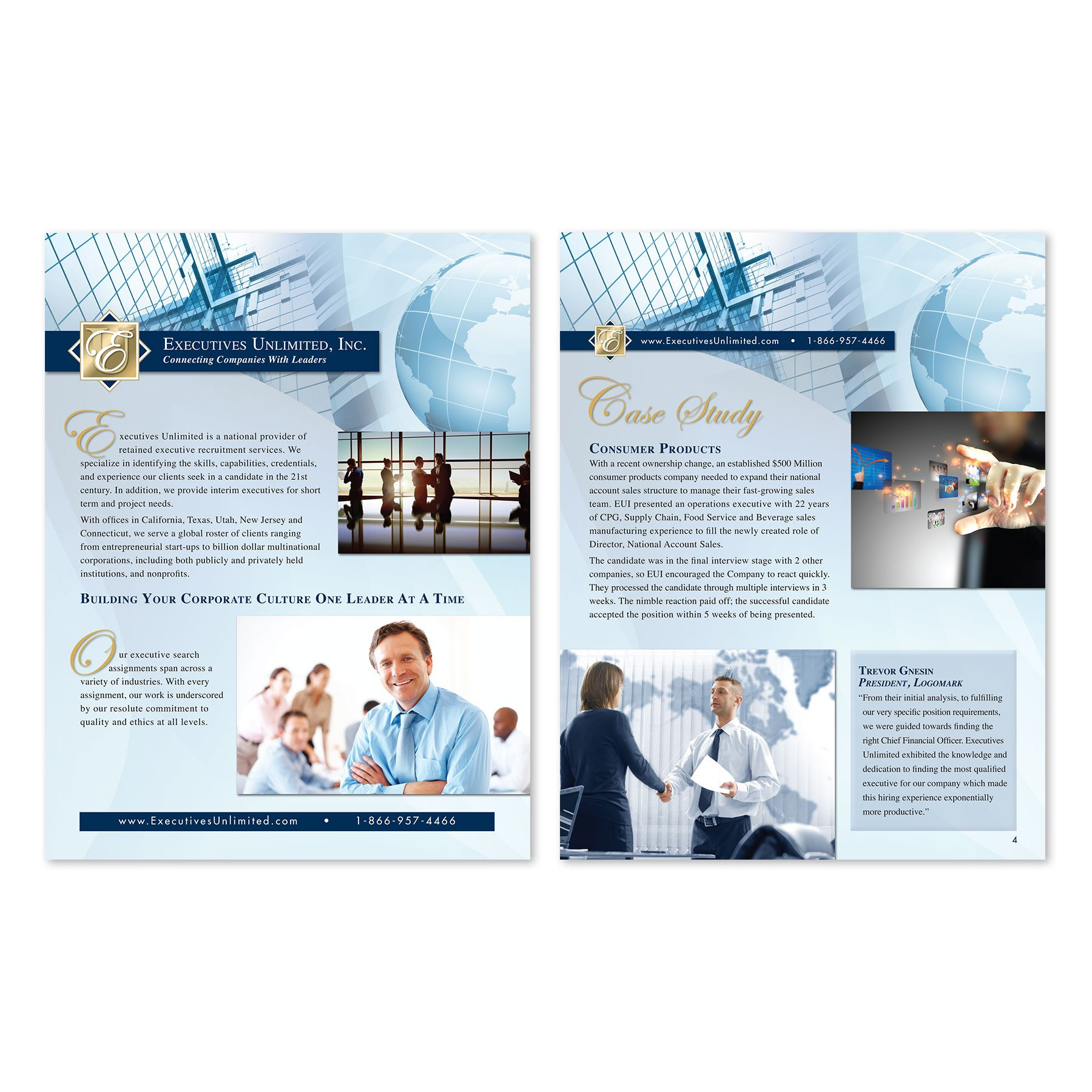 Executives Unlimited Online Brochure