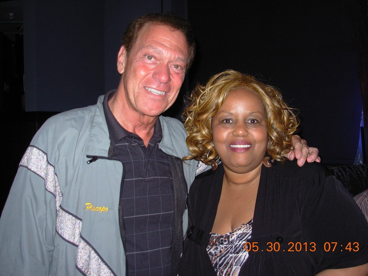 Leticia Walker With Joe Piscopo