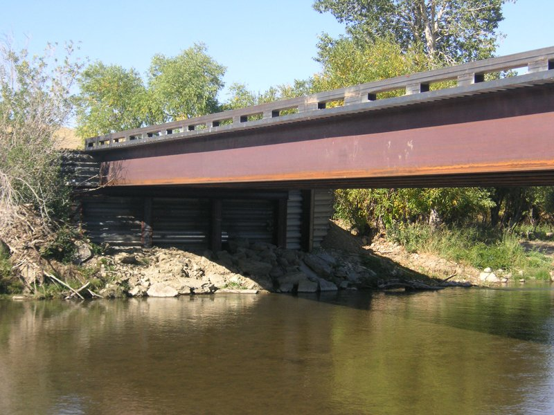 red lodge creek fall bridge||||