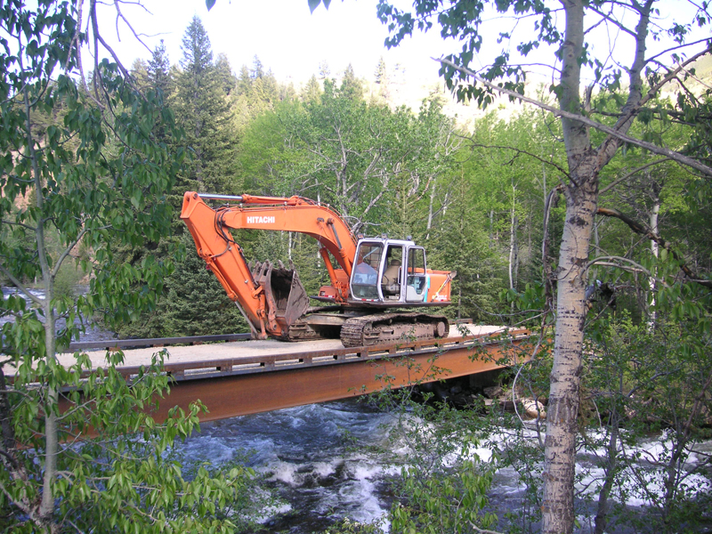 red lodge moutain bridge contractor    