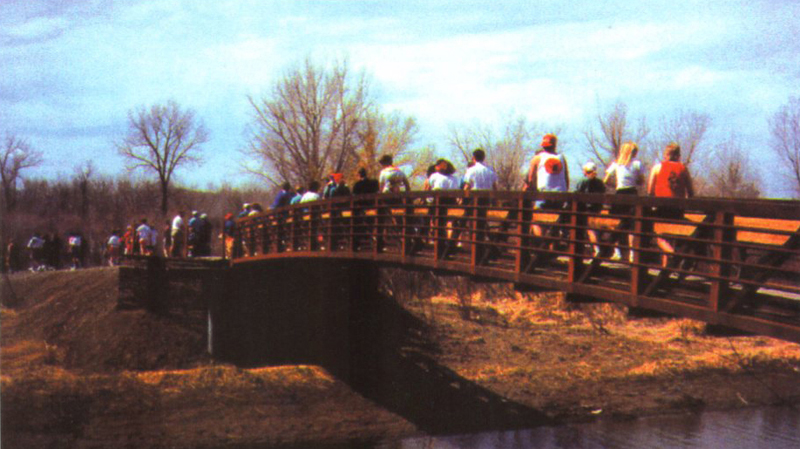 recreational foot bridge contractor information||||