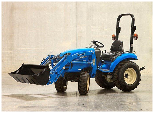Blue tractor open top||||Masters Farm Supply is a proud dealer of LS Tractors