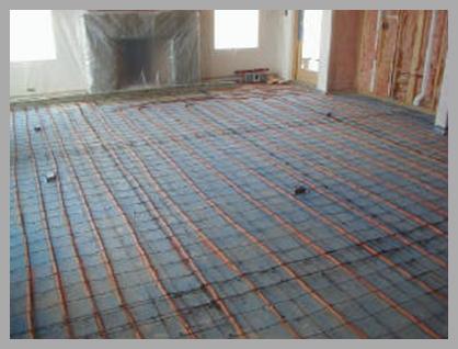 Heated floor underlay    