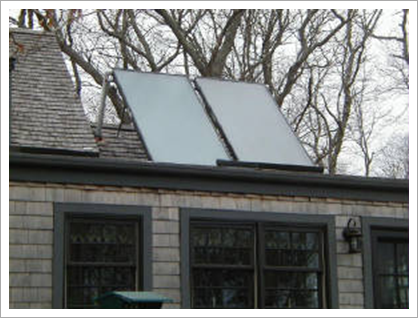 Roof with solar panels||||
