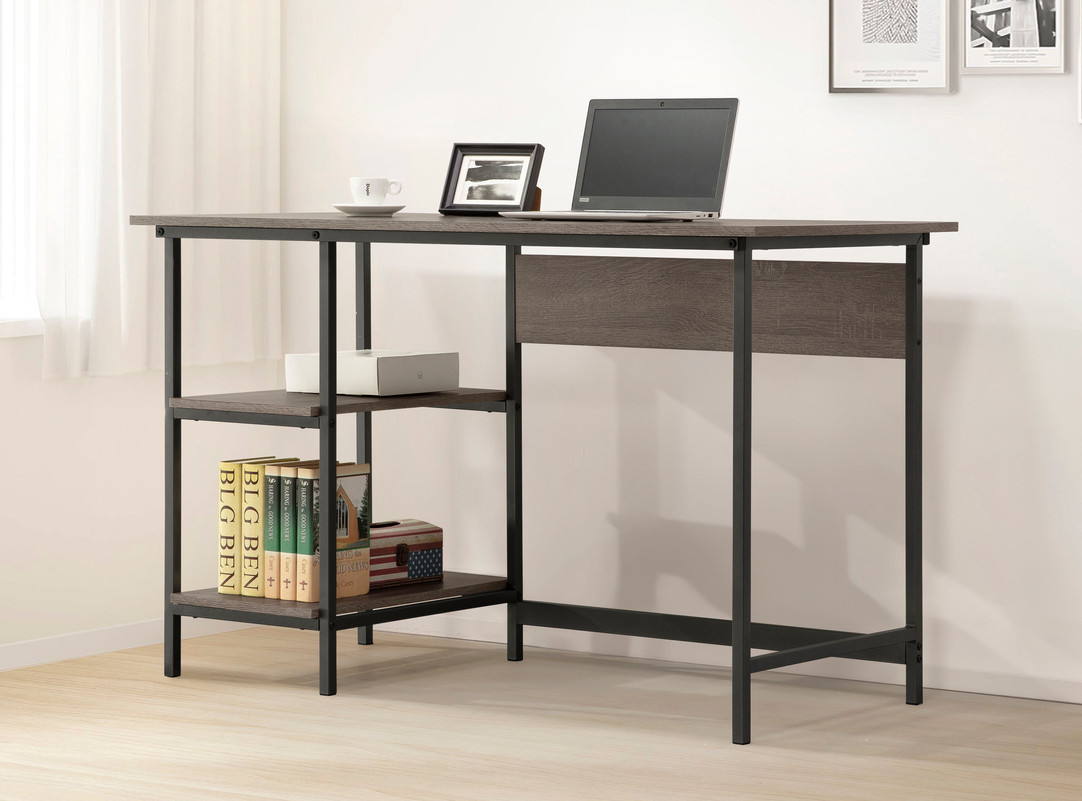 402-715 Single Pedestal Desk