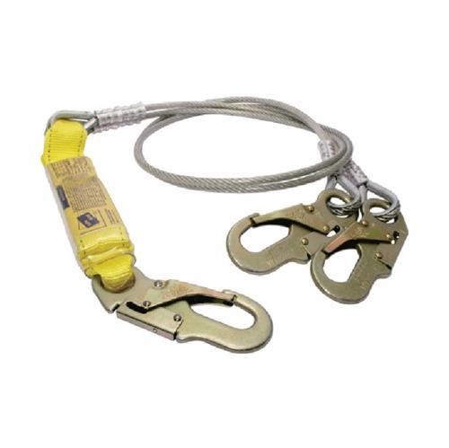 AMORTIGUADOR DE IMPACTO SAFE STEP CON 2 CABLES DE ACERO 1.83 MTS