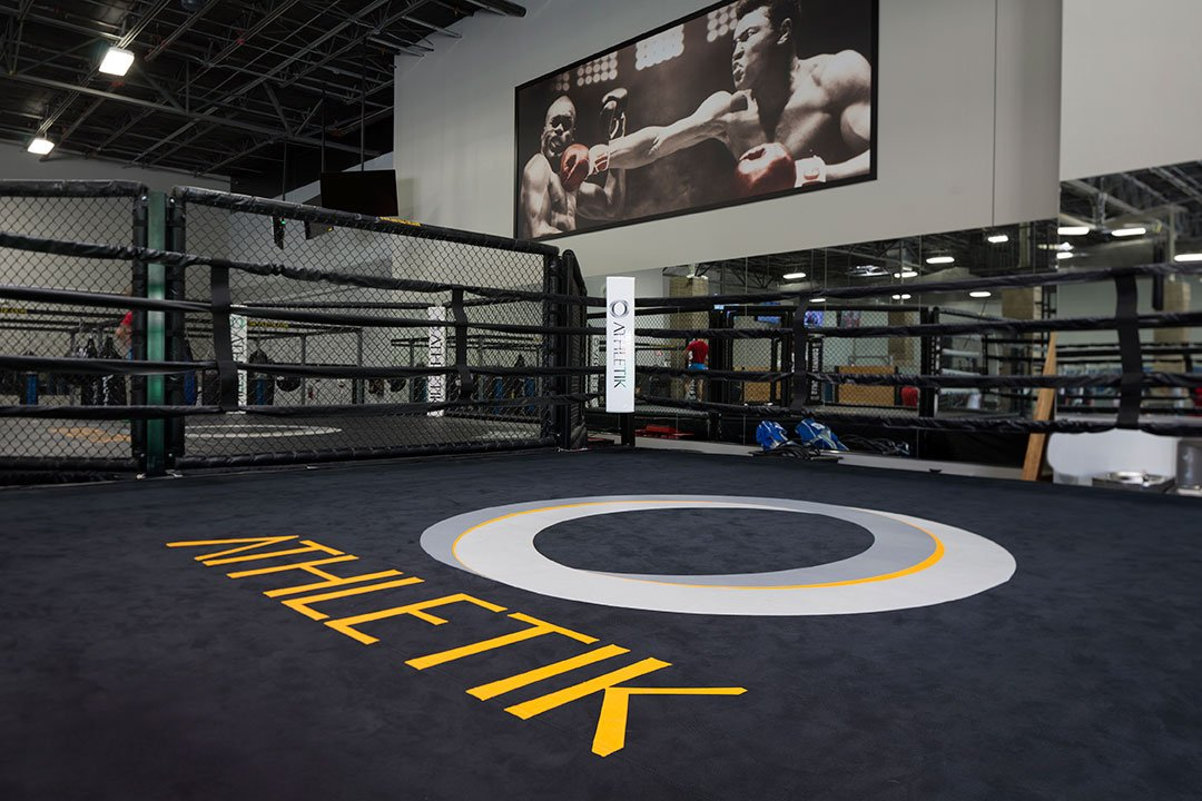 O Athletik Fighting Ring
