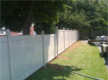 White Wooden Fence 7