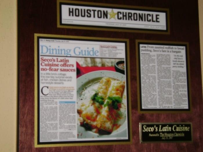 Houston Chronicle Feature